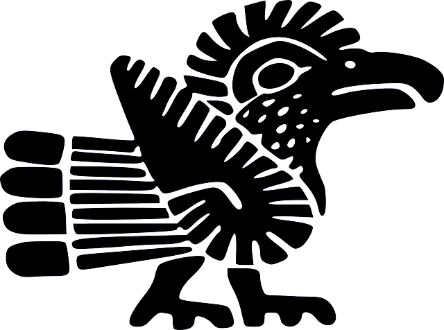 Aztec-Bird-Drawing