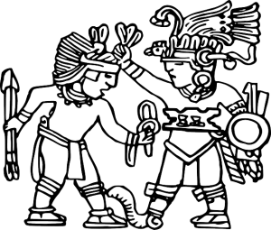 Aztec-Warriors-Drawings