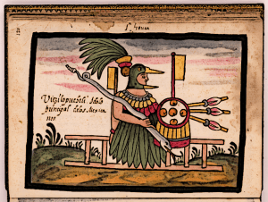Huitzilopochtli-the-Hummingbird-God-the-Principal-Aztec-God