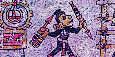 Aztec Weapons and The Atlatl on Aztec Codex
