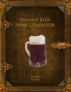 Fantasy Beer Name Generator