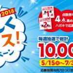 2018/8/7山崎製パン 2018 夏のおいしくチョイス!キャンペーン