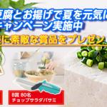 2018/8/31アサヒコ アサヒコの豆腐とお揚げで夏を元気に過ごそう! プレゼントキャンペーン