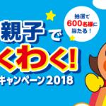 2018/11/7フジパン アンパンマン 親子でわくわく!キャンペーン2018