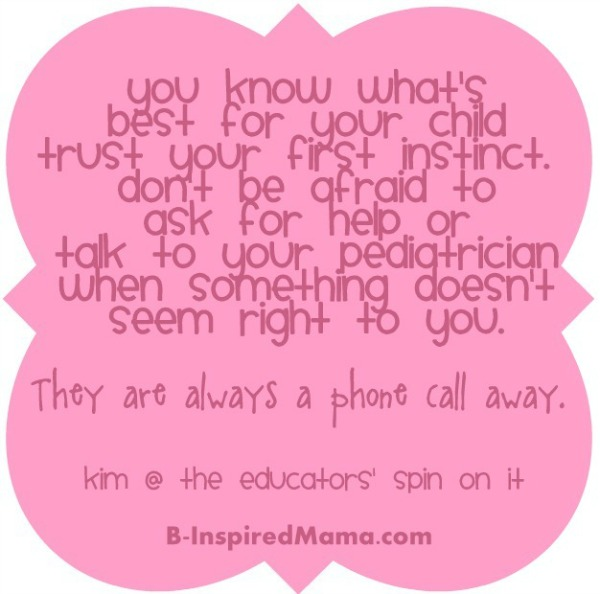Parenting Advice from The Educators' Spin On It at B-Inspired Mama