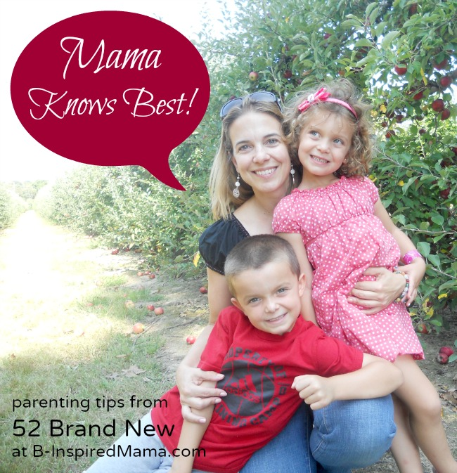 52 Brand New on Mama Knows Best at B-Inspired Mama