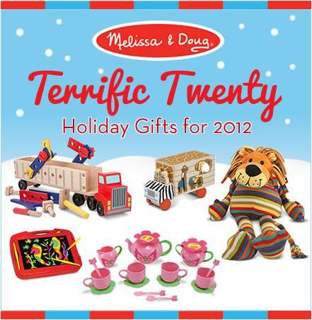 Melissa & Doug Toys Terrific Twenty List and Giveaway at B-InspiredMama.com