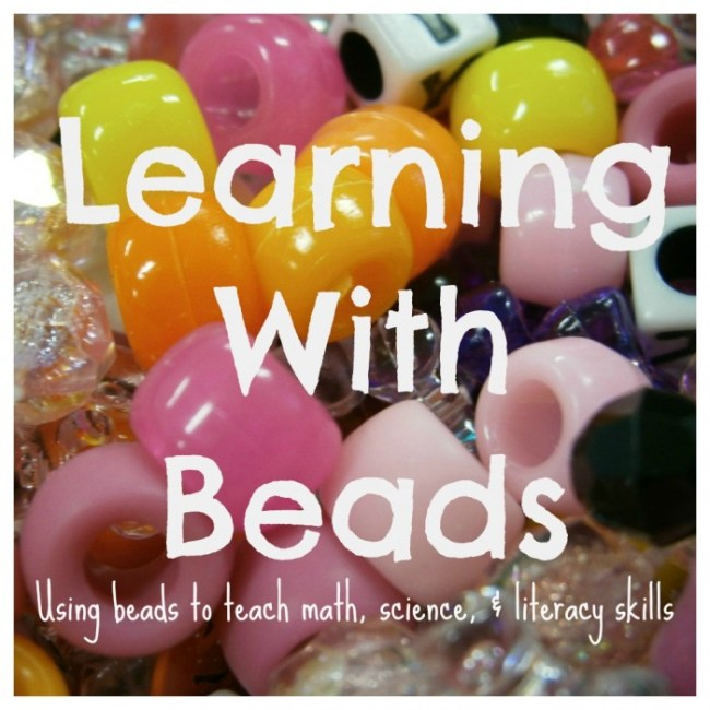 Early Learning with Beads from Fun-A-Day! and B-InspiredMama.com