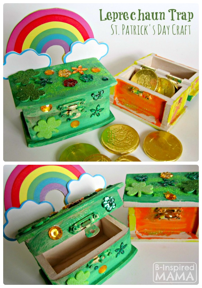 Leprechaun Trap Box St. Patrick Craft
