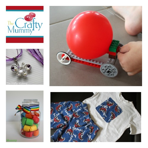 The Crafty Mummy at B-InspiredMama.com