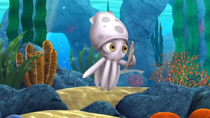 Alphie the Giant Squid Learning Game for Kids at B-Inspired Mama