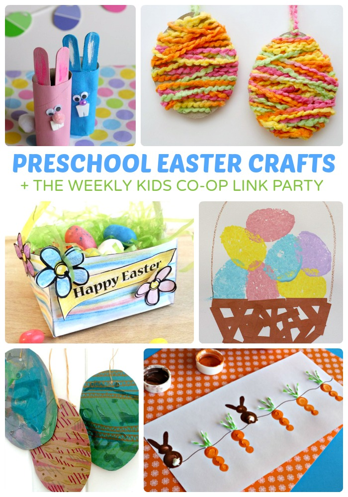 Adorable Preschool Easter Crafts