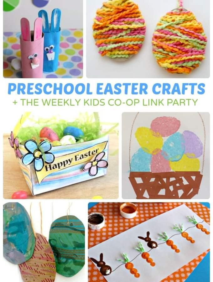 Adorable Preschool Easter Crafts