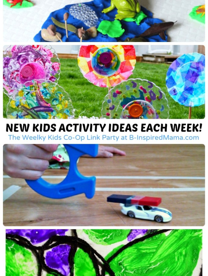 New Activities for Kids + The Kids Co-Op Link Party