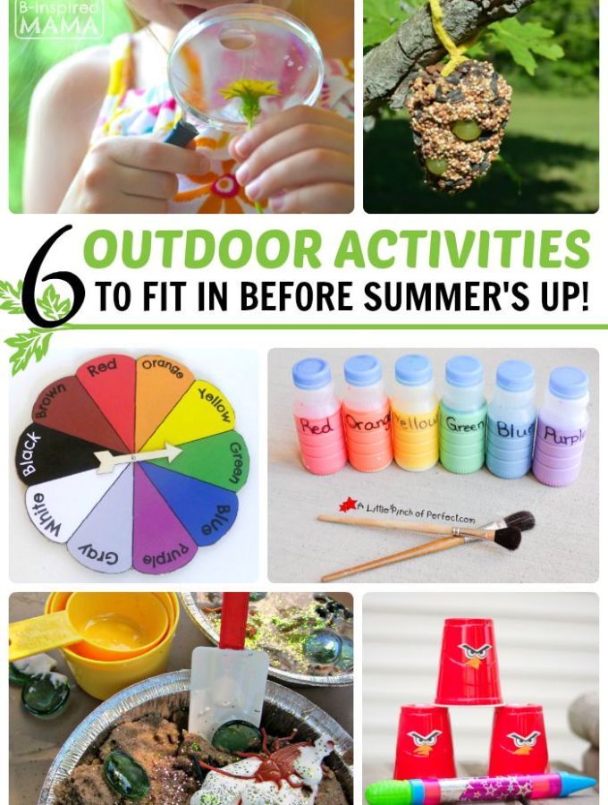 6 Outdoor Activities to Fit In Before Summer's Up