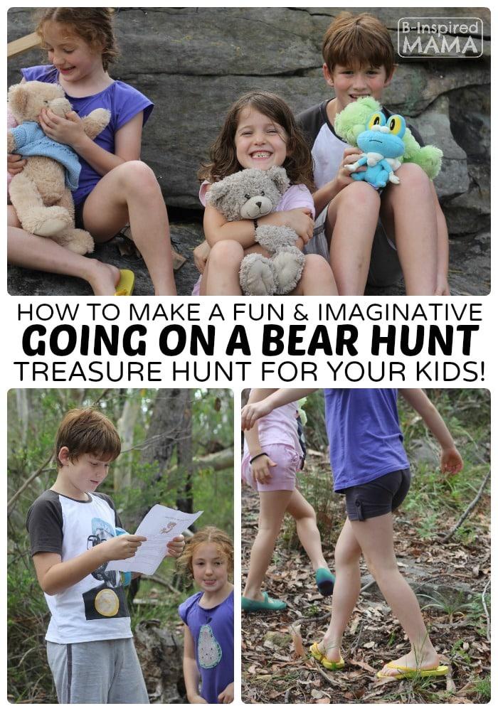 An Imaginative Going on a Bear Hunt Activity