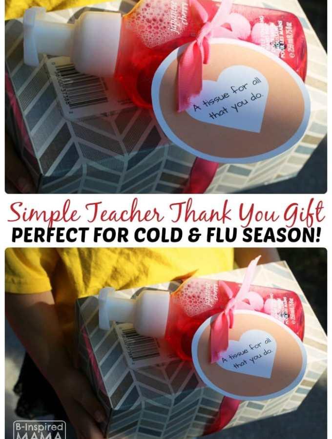 Easy Cold Season Teacher Appreciation Gift