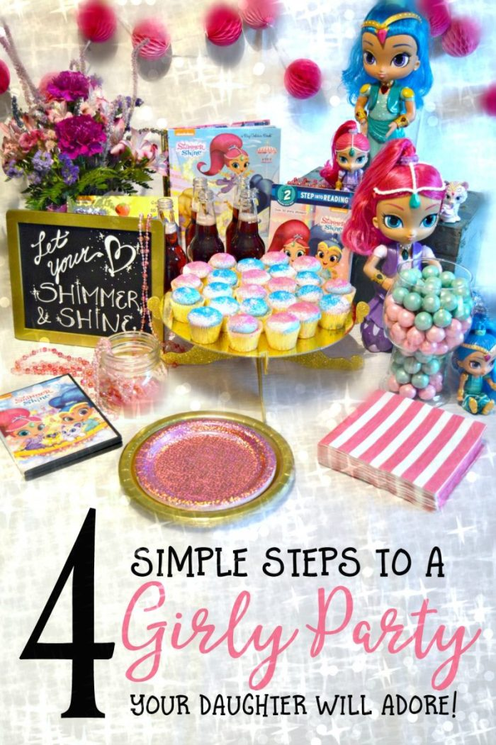 4 Steps to a Girly Party or Playdate your Daughter will Adore