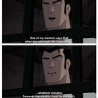 Batman remembering his mentor from Baker Street, from Gotham by Gaslight