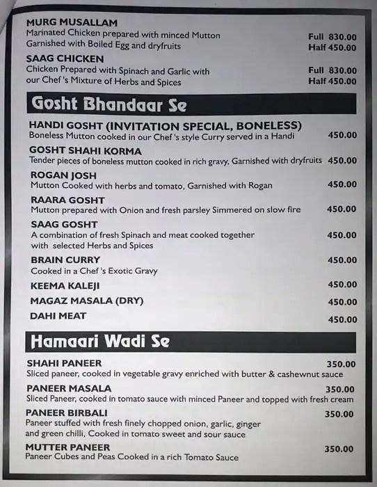 Invitation restaurant cp invitationswedd invitation menu for ashok vihar phase 2 new delhi stopboris Image collections