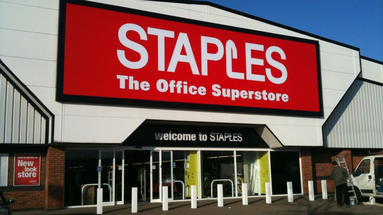 Staples-Filiale