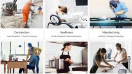 Screenshot von Ebay Business Supply