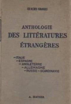 Livres Couvertures de Anthologie des littératures étrangères