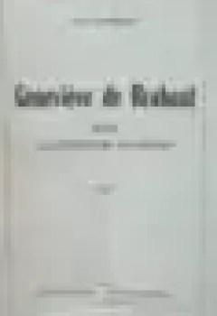 Livres Couvertures de Geneviève de Brabant dans la littérature allemande