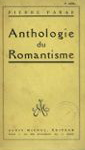 Pierre Paraf. Anthologie du romantisme