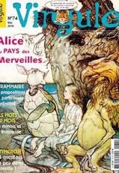 Livres Couvertures de Virgule 74. Alice au pays des Merveilles