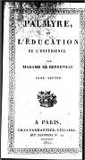Palmyre ou l'éducation de l'expérience, tome2