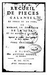 Recueil de pièces galantes en prose et en vers de Mme la Ctesse de La Suze et de M. Pélisson, tome3