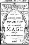 Comment on devient Mage: Amphithéâtre des sciences mortes. Éthique