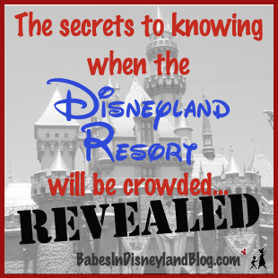 Revealed! Here is your guide to knowing whether the Disneyland Resort will be crowded!