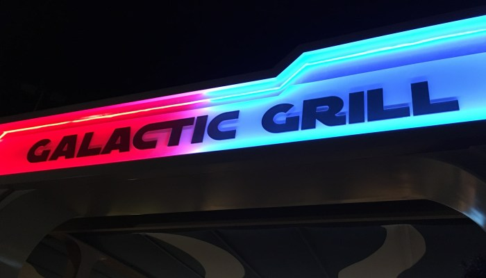 Disneyland Galactic Grill Review and Menu Prices