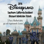 Everything you need to know about the 2016 Southern California Resident Disneyland Tickets