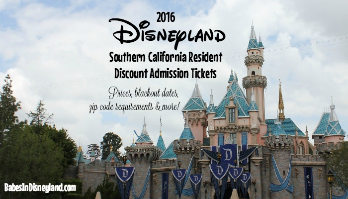 2016 Disneyland Southern California Resident Discount Tickets: Everything you need to know