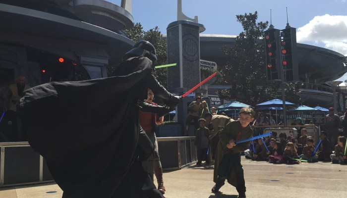 How to participate in the Jedi Training at Disneyland