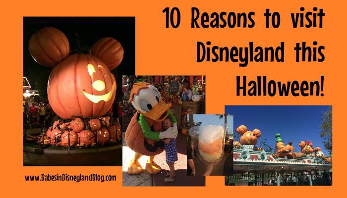 10 Reasons to Visit Disneyland this Halloween!