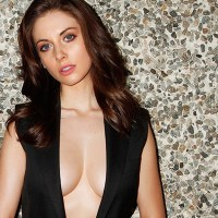 Alison Brie -- Esquire agrees, these boobs are big
