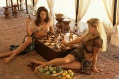 Jami Ferrell, Rachel Jean Marteen Playboy Safari