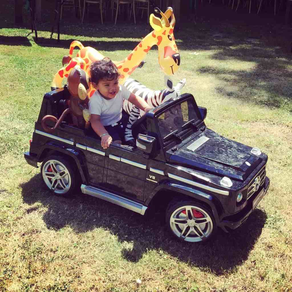 Arjun's 1st Birthday Jungle Party … The Build Up