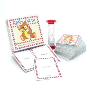 Baby Draw: baby shower charades cards and timer