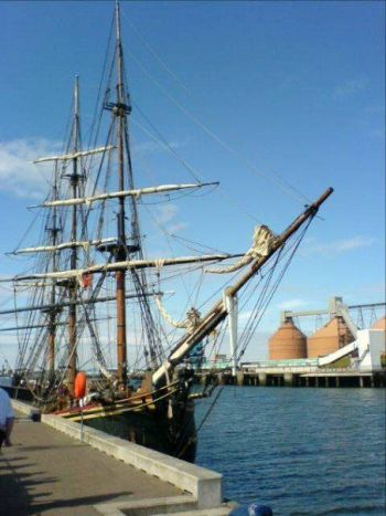 TALL SHIPS IN BLYTH NORTHUMBERLAND