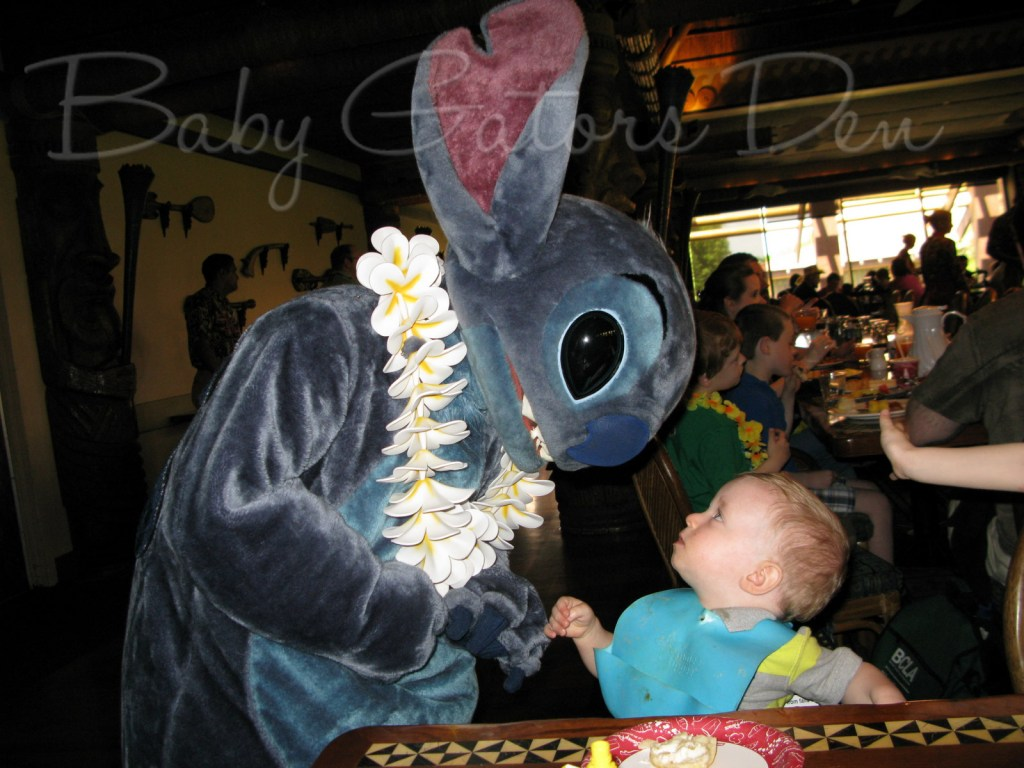 stitch breakfast 1024x768 Tips for doing Disney with a Toddler