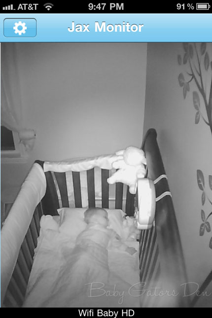 night time wifi baby A Geeks Dream Baby Monitor: WiFi Baby 3G