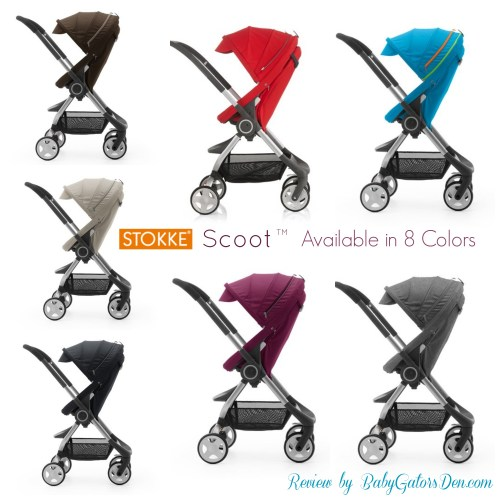StokkeScoot Colors 500x500 Stokke Scoot Review & Giveaway