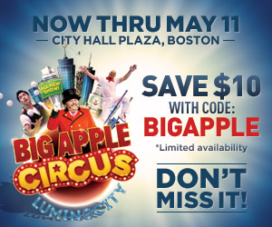 circus 21 Big Apple Circus in Boston {Giveaway}