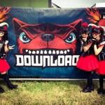 "BABYMETAL ""DOWNLOAD FESTIVAL 2015″出演!DragonForceとギミチョコを披露!動画"