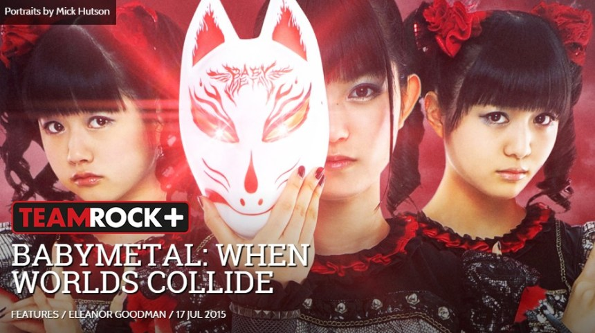 babymetal Metal Hammer hitched a ride for 72 hours of chaos